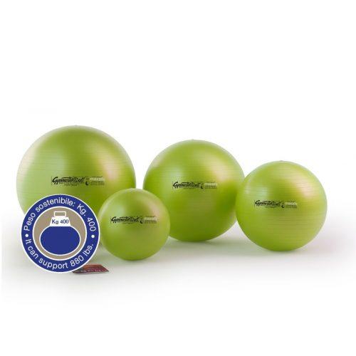 Fitball gimnasztika labda maxafe, 65 cm - zöld, ABS biztonsági anyagból