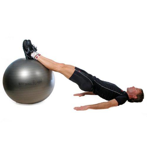 Fitball gimnasztika labda maxafe, 75 cm - antracitszürke, ABS biztonsági anyagból