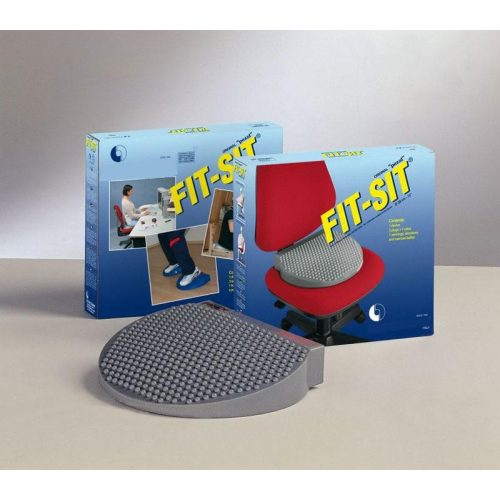 Fit Sit döntöttszögű ék alakú tartásjavító és egyensúlyozó párna , fitsit szürke színben