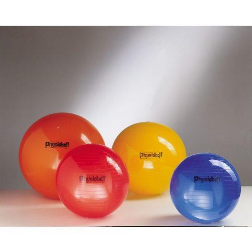 Physioball Pezzi standard 95 cm -  terápiás fiziolabda 95 cm, piros színben , óriás labda