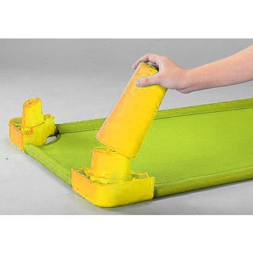 Lábhosszabbító magasító szett óvodai fektetőhöz (sárga színben)