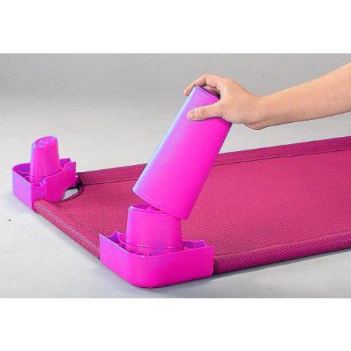 Lábhosszabbító magasító szett óvodai fektetőhöz (pink színben)