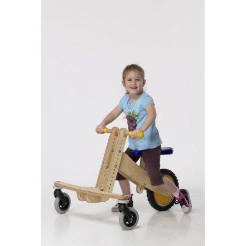 Pedo-bike S air XL - fújható gumikerekű extra nagy tricikli
