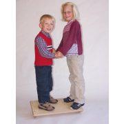 Egyensúlyozó lap 60x35 cm 7cm-es ívelt szántalppal