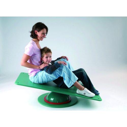 Varussell levegős egyensúlyozó ágy fa fekvőfelülete