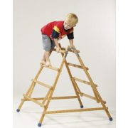 Favázas mozgásfejlesztő gyermeklétra 4 fokkal