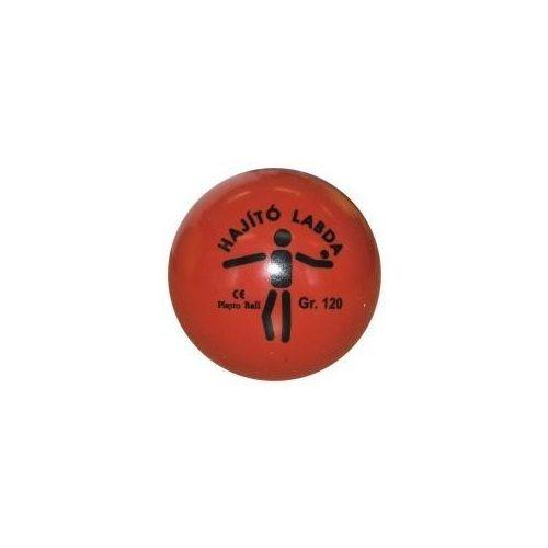 Dobólabda 120gr - hajítólabda PVC  műanyag- piros