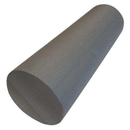 Capetan® | SMR henger, masszázshenger (15x45cm, standard keménység,  szürke színben sima felülettel)