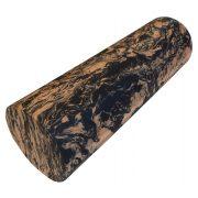 Capetan®   SMR henger, masszázshenger (15x45cm, extra kemény anyagú physiohenger, narancs/fekete színben, sima felülettel)