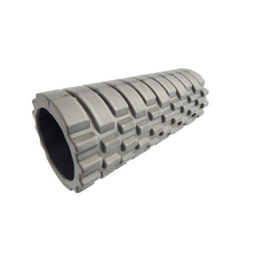 Capetan® Gilavar | SMR henger, masszázshenger (10x30cm, kompakt méret, szürke színben  ABS biztonsági műanyag betéttel)