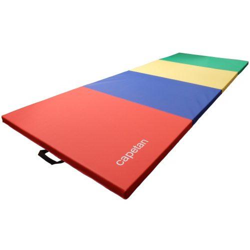 Capetan® Premium Line   Tornaszőnyeg (4 részbe hajtható, 120x240x5cm, PVC bevonatos tornaszőnyeg)
