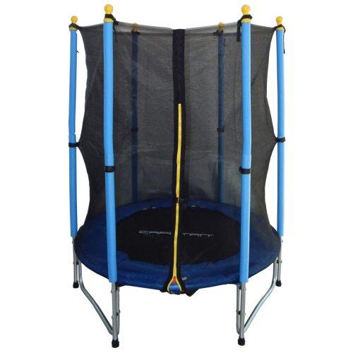 Capetan® Enjoy Kid | Trambulin (140cm-es kültéri/beltéri trambulin W lábakkal, fém rugókkal)