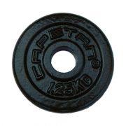 Capetan® | Súlytárcsa (1,25kg acél tárcsasúly kalapácslakk felülettel, 31 mm lukátmérővel)