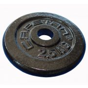 Capetan®   Súlytárcsa (2,5kg acél tárcsasúly kalapácslakk felülettel, 31 mm lukátmérővel)