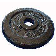 Capetan® | Súlytárcsa (2,5kg acél tárcsasúly kalapácslakk felülettel, 31 mm lukátmérővel)