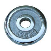Capetan®   Súlytárcsa (1,25 kg krómozott tárcsasúly, 31 mm lukátmérővel)