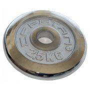 Capetan® | Súlytárcsa (15 kg krómozott tárcsasúly, 31 mm lukátmérővel)
