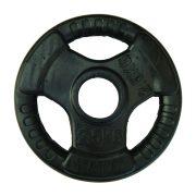 Capetan® Professionl Line   Gumírozott acél súlytárcsa (Olympic Tri Grip gumival bevont 2,5Kg acél tárcsasúly - 51mm lukátmérővel, fogantyúkkal)