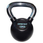 Capetan® Professional Line   Kettlebell (12kg, krómozott nyelű, gumival bevont acél harangsúly)