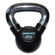 Capetan® Professional Line | Kettlebell (16kg, krómozott nyelű, gumival bevont acél harangsúly)
