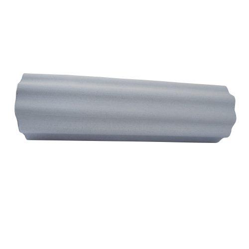 TacticSport | SMR henger, masszázshenger  (EVA hab anyagú nagyhullámos felületű physio henger 15cm átm 90cm hosszú - szürke színben