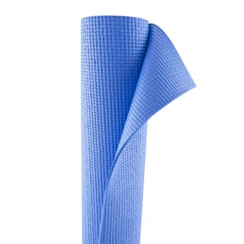 TacticSport | Jógaszőnyeg (173x61x0,4cm, PVC anyagból, kék színben)