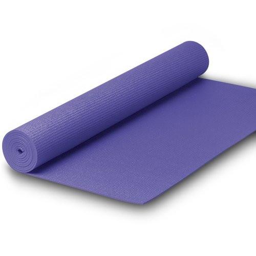 TacticSport | Jógaszőnyeg (173x61x0,4cm, PVC anyagból, lila színben)