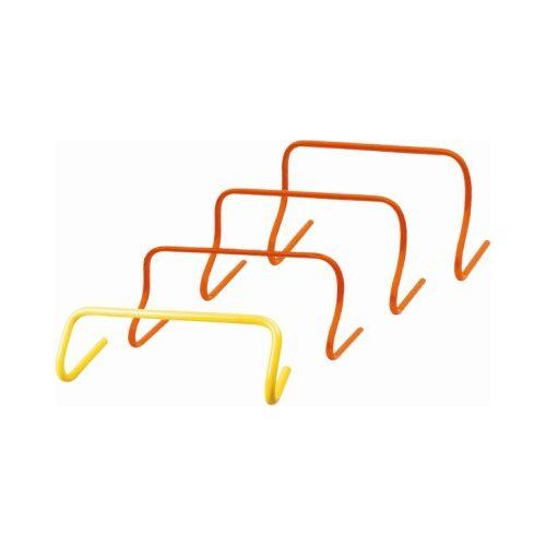 TacticSport | Mini gát szett (fix 23 cm-es magassággal, 5 db-os készlet, narancs szín)