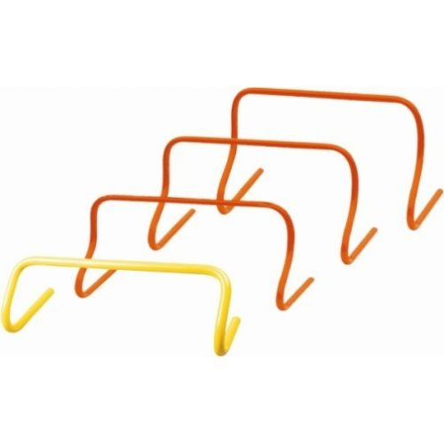 TacticSport | Mini gát szett (fix 30 cm-es magassággal, 6 db-os készlet, narancs szín)
