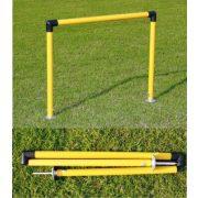 Tréning sorozat (10 db 2,5cm átmérőjű műanyag cső, fém leszúró)
