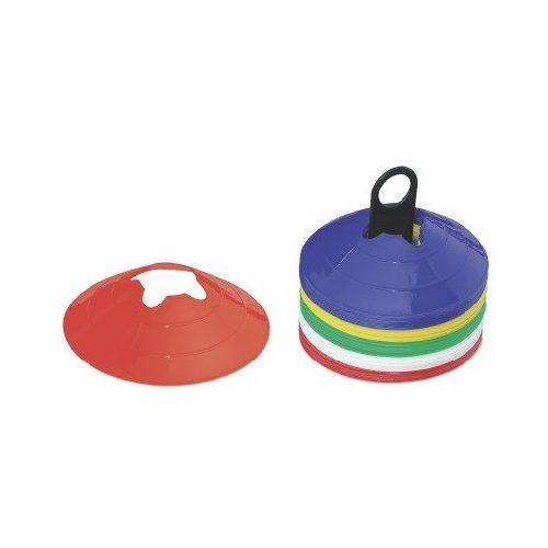TacticSport   Labdarúgó boja (konkáv tányérbója bottartó bevágással 40 db-os, 19x5 cm jelzőtányérsorozat)