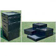 Plyo box szett (4 db-os , hab anyagból 76x82 cm, 4 magasság 15, 30, 45, 60 cm)