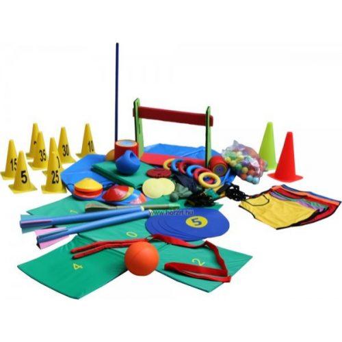 Kölyök atlétika komplett edzőcsomag (6-12 éves korosztály részére , iskolai edzőcsomag)
